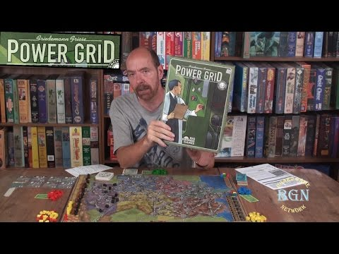 How to Play the board game Power Grid