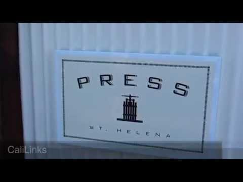 PRESS St Helena Fine Dining & Wine - Napa Valley California Wine Country