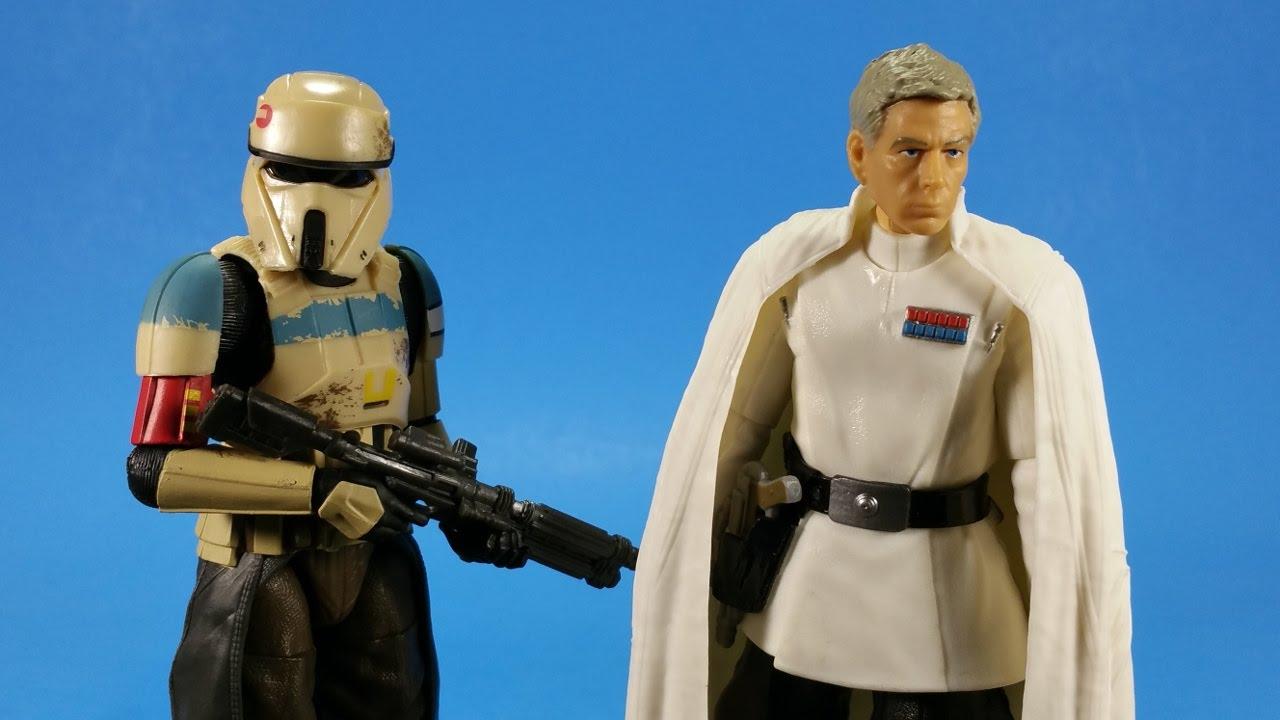 "New Star Wars Black Series Scarif Stormtrooper squad leader trooper figure 3.75/"""