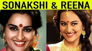 Why is sonakshi sinha similar to reena roy?