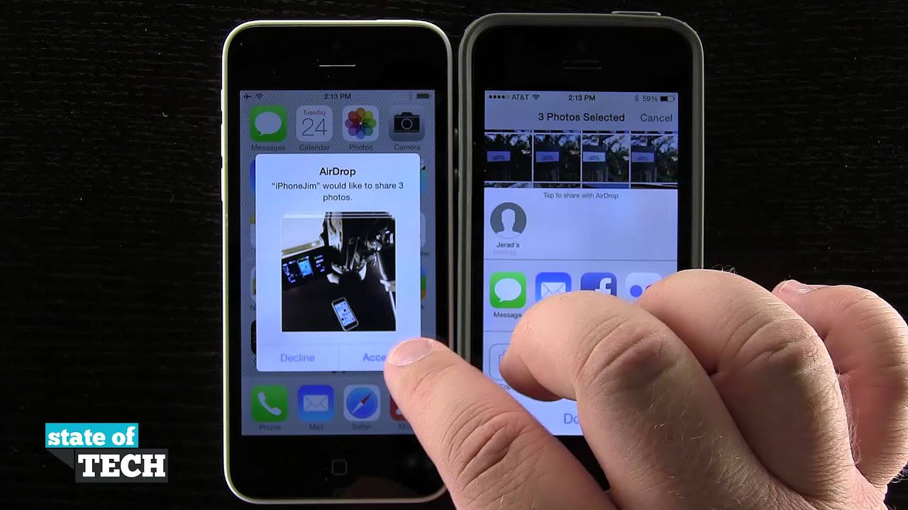 how does airdrop work on iphone iphone 5s tips how to use airdrop 18468