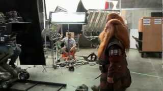Хоббит - Неожиданное путешествие - видеоблог, часть 7(Седьмая часть видеоблога о съемках фильма