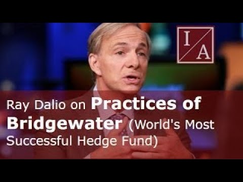 Ray Dalio on Practices of Bridgewater (World's Most Successful Hedge Fund)