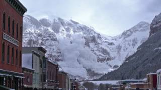 Top 10 AMAZING Massive Avalanche in the world