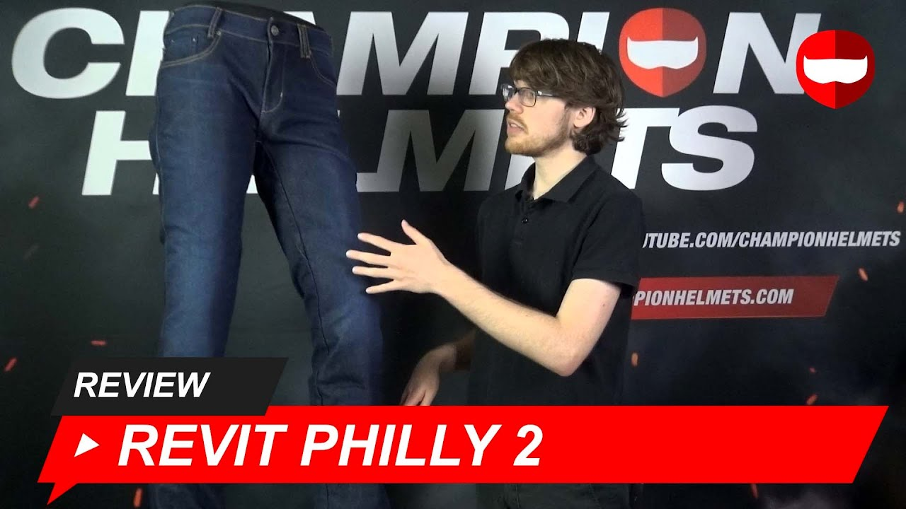 Revit Philly 2 Motorcycle Jeans Review - ChampionHelmets.com