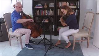 Skylark Bach Inv 8 Flute Cello
