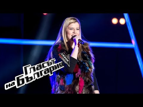 Nelly Gergova – Black Widow – The Voice of Bulgaria 5 – Blind Auditions (01.04.2018)