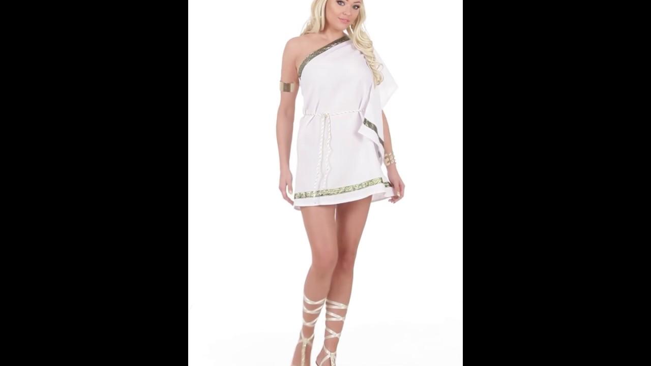 Disfraz de Diosa Griega para mujer. - YouTube