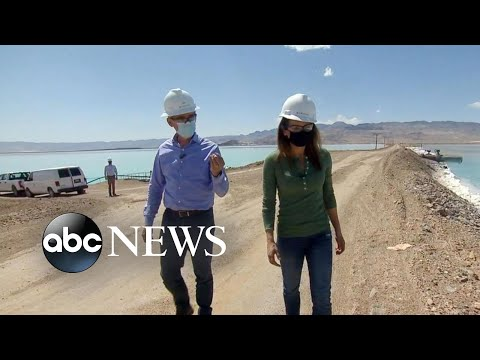 The 'white gold rush': Inside a lithium mine, where stores of recyclable energy lie | Nightline