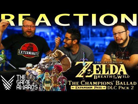 The Legend of Zelda: Breath of the Wild - The Champions Ballad Trailer REACTION!! TGA 2017