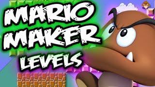 MARIO MAKER GAMEPLAY || Ultimate Goomba Level! || Super Mario Maker Levels