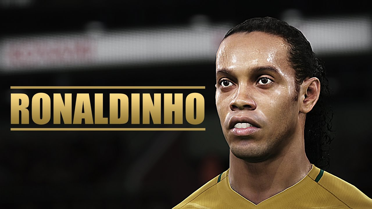 PES 2017 - Ronaldinho - YouTube