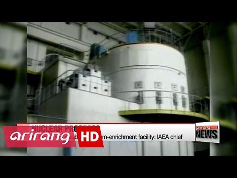 N. Korea has doubled uranium-enrichment facility: IAEA chief