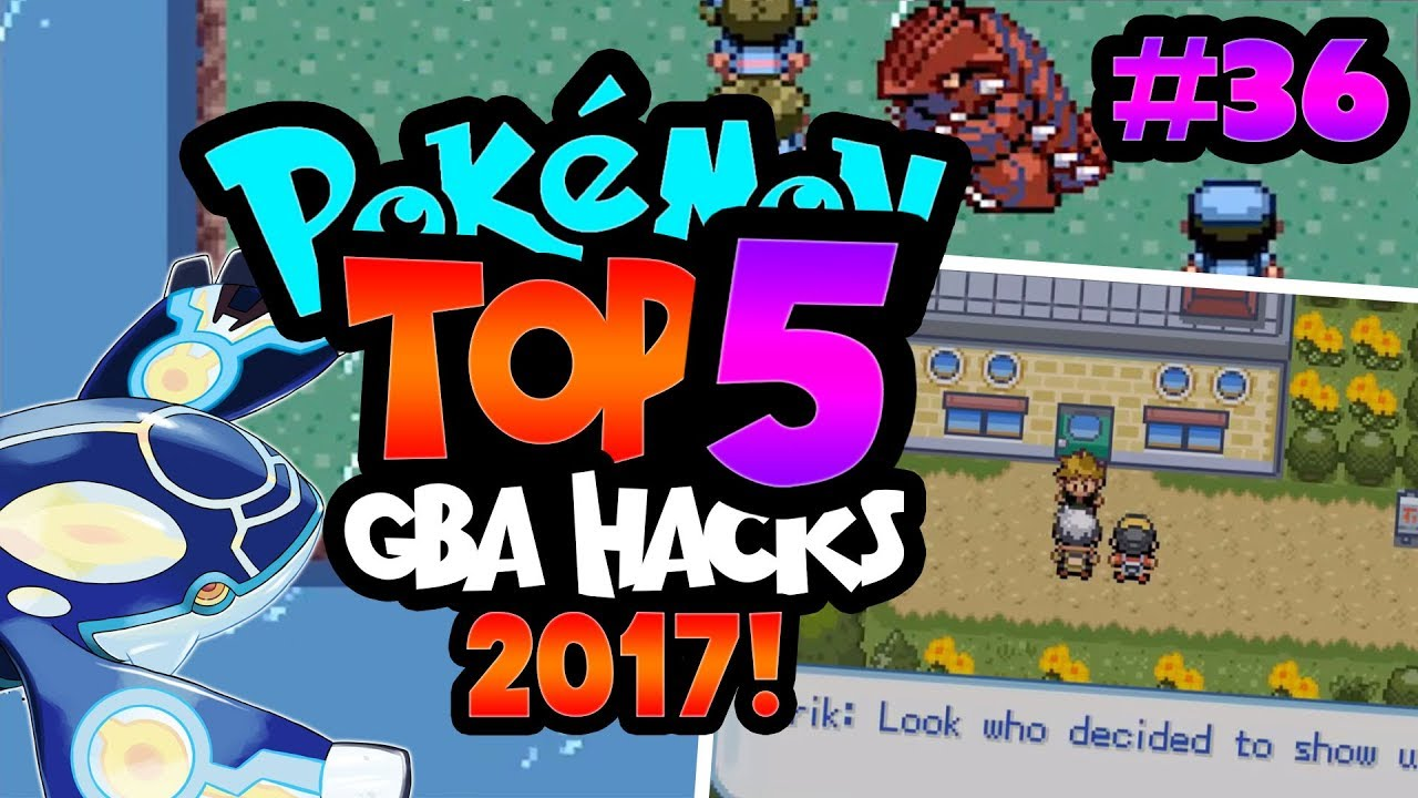 Top 5 best gba pokemon rom hacks of 2017 with download links.