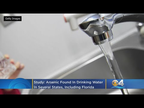 Study: Arsenic In Drinking Water Of Several States, Including Florida, Damages Hearts Of Young Adult