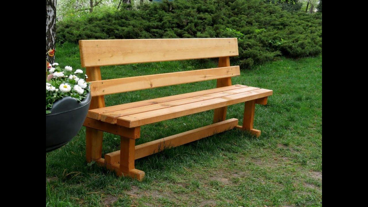 Стол и скамейки из дерева своими руками фото 127