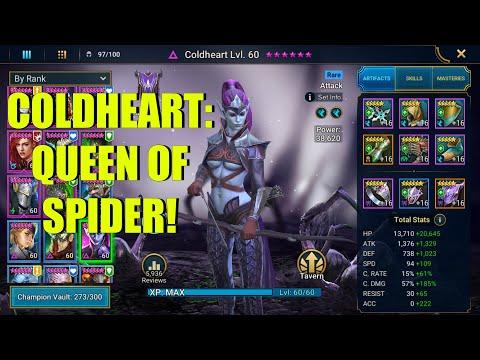 Coldheart Champion Guide   Raid: Shadow Legends