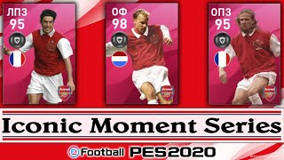 Iconic Moment Arsenal Pack Opening PES 2020 Mobile +РОЗЫГРЫШ