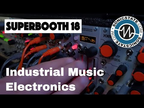 Superbooth 2018: Industrial Music Electronics - Piston Honda MK3