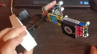 Максимальные нагрузки на USB тестер RD UM34C и нагрузку RD LD25