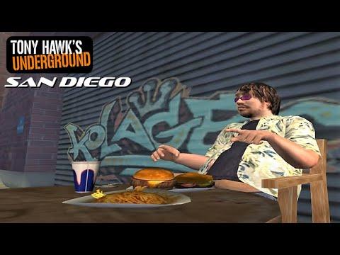 Tony Hawk's Underground: San Diego (Sick Difficulty)