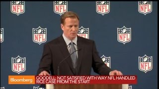 Roger Goodell: Ray Rice Video Not Consistent With His Story