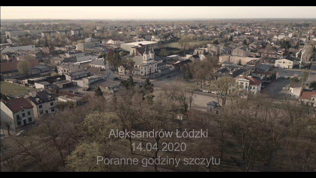Kwietniowy (COVID-owy) poranek w Aleksandrowie Łódzki.