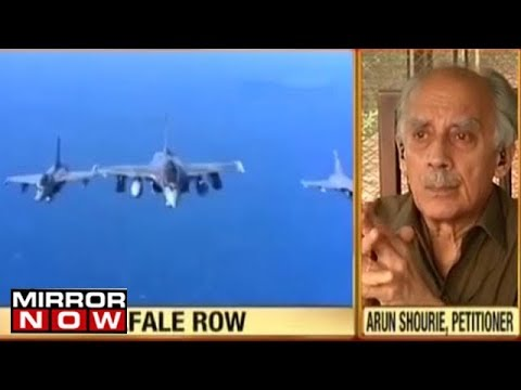 Rafale deal controversy: Petitioner Arun Shourie speaks to Mirror Now