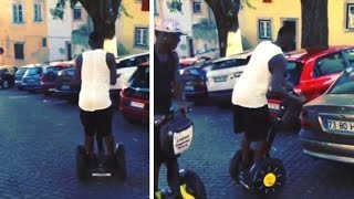 Video Mario Balotelli & His Brother Try Out Segways.. You Can Guess How It Ends! Hilarious download MP3, 3GP, MP4, WEBM, AVI, FLV Juli 2018