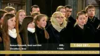 Kühnův dětský sbor, adventní koncert ČT, 15.12.2013