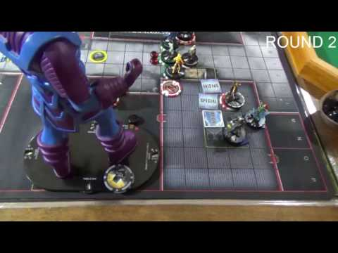 LittlePlasticSuperheroes Heroclix Galactus Battle Report