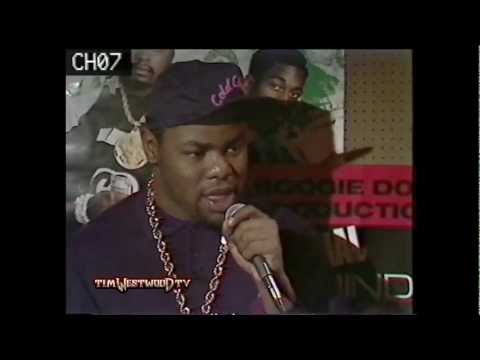 *OLD SCHOOL* Biz Markie interview & freestyle 1988 - Westwood