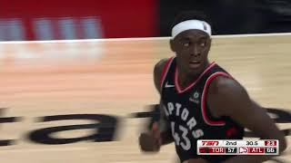 Pascal Siakam Full Career HIGH Highlights Raptors vs Hawks 2019 02 07   33 Points, 13 Reb