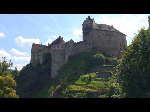 Чехия: Замок Локет - Карловы Вары