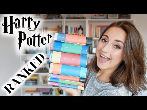 HARRY POTTER BOOKS ⚡️ RANKED WORST TO BEST
