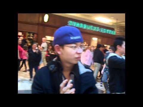 Flash Freeze Mob Feb. 5th 2011 Mall of Georgia