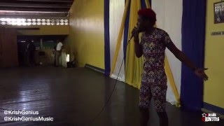 Devin Di Dakta Performing At Merl Grove High School Jamaica Day - 2016