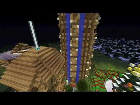 Minecraft - Un monde, une ville ep13 - Enfin le CO-CO-CO-COLOSSE !!!! :D