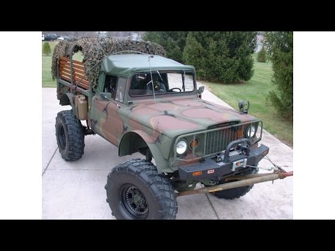 Willys Jeep Truck For Sale >> 1968 Jeep M715 Military Monster Truck - YouTube