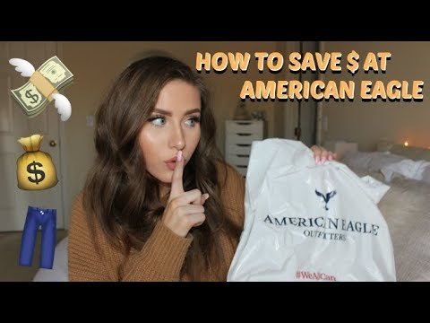 How to Save Money at American Eagle & Get FREE Jeans!