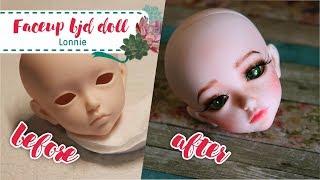 Мэйкап бжд куклы ( BJD Doll Iplehouse Kid Lonnie) | Repainting bjd Dolls