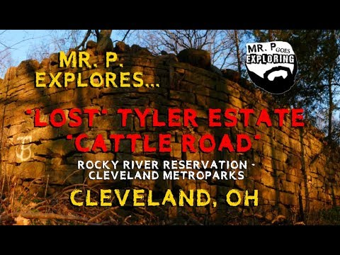 """Mr. P. Explores... The """"Lost"""" Tyler Estate """"Cattle Road!"""" (Cleveland, OH)"""