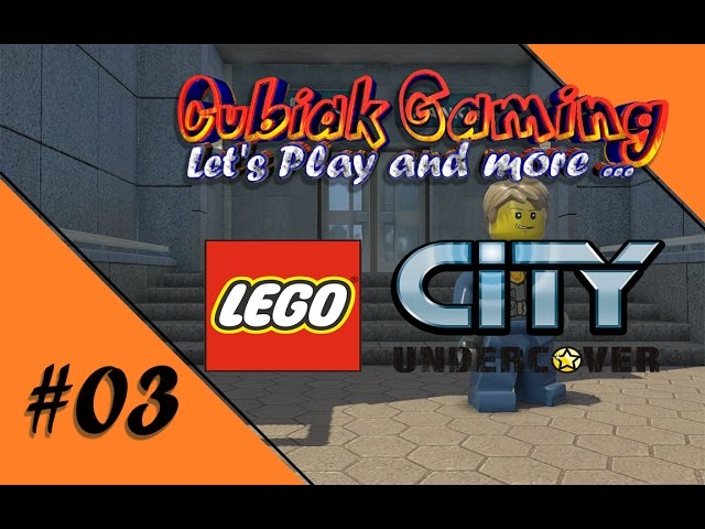 ÜBER DEN DÄCHERN DER STADT ★ Let's Play LEGO City Undercover #03