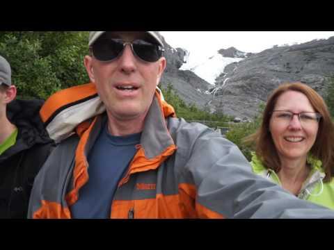 Hiking Worthington Glacier (day 17)