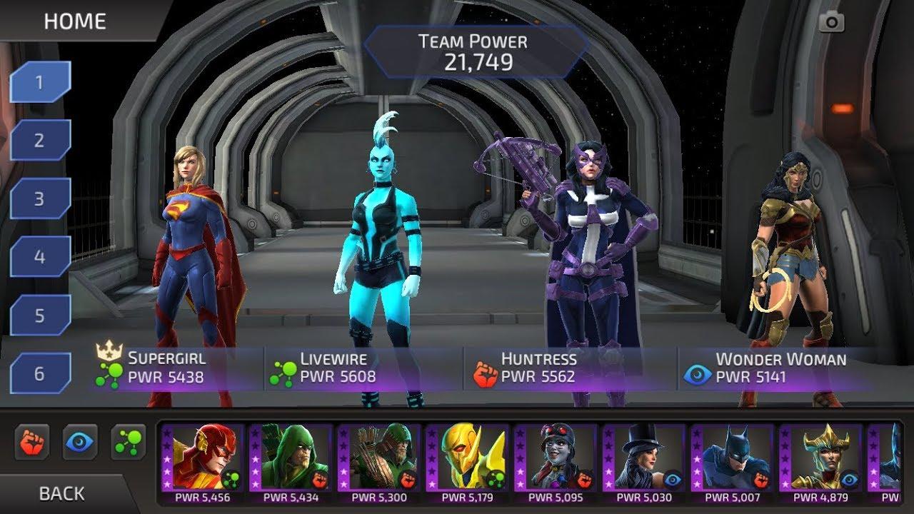 DC Legends - My NEW PvP Meta Team! - YouTube