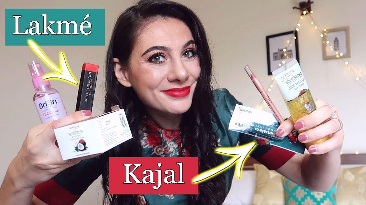 FOREIGNER TRIES INDIAN BEAUTY PRODUCTS | TRAVEL VLOG IV
