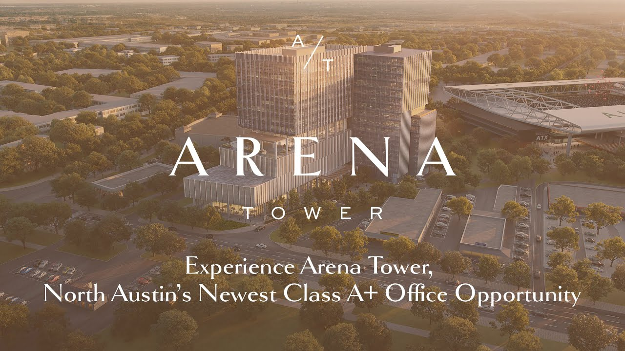 Arena Tower – North Austin's New Class A Office Adjacent to the MLS Stadium