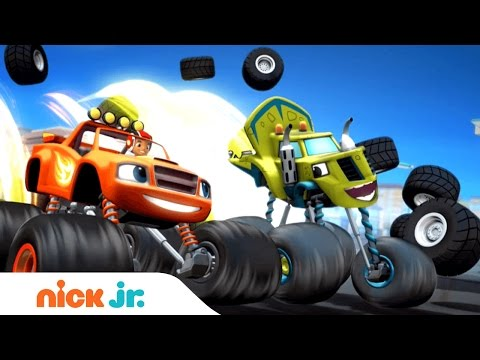 Blaze and the Monster Machines Castilian Spanish | Official Theme Song (Music) | Nick Jr.