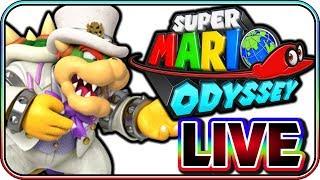 SUPER MARIO ODYSSEY - FULL GAME LIVE STREAM (PART 2)