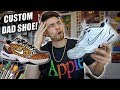 How to Customize Nike Air Monarchs! Safari Pack Dad Shoes | Full Tutorial!